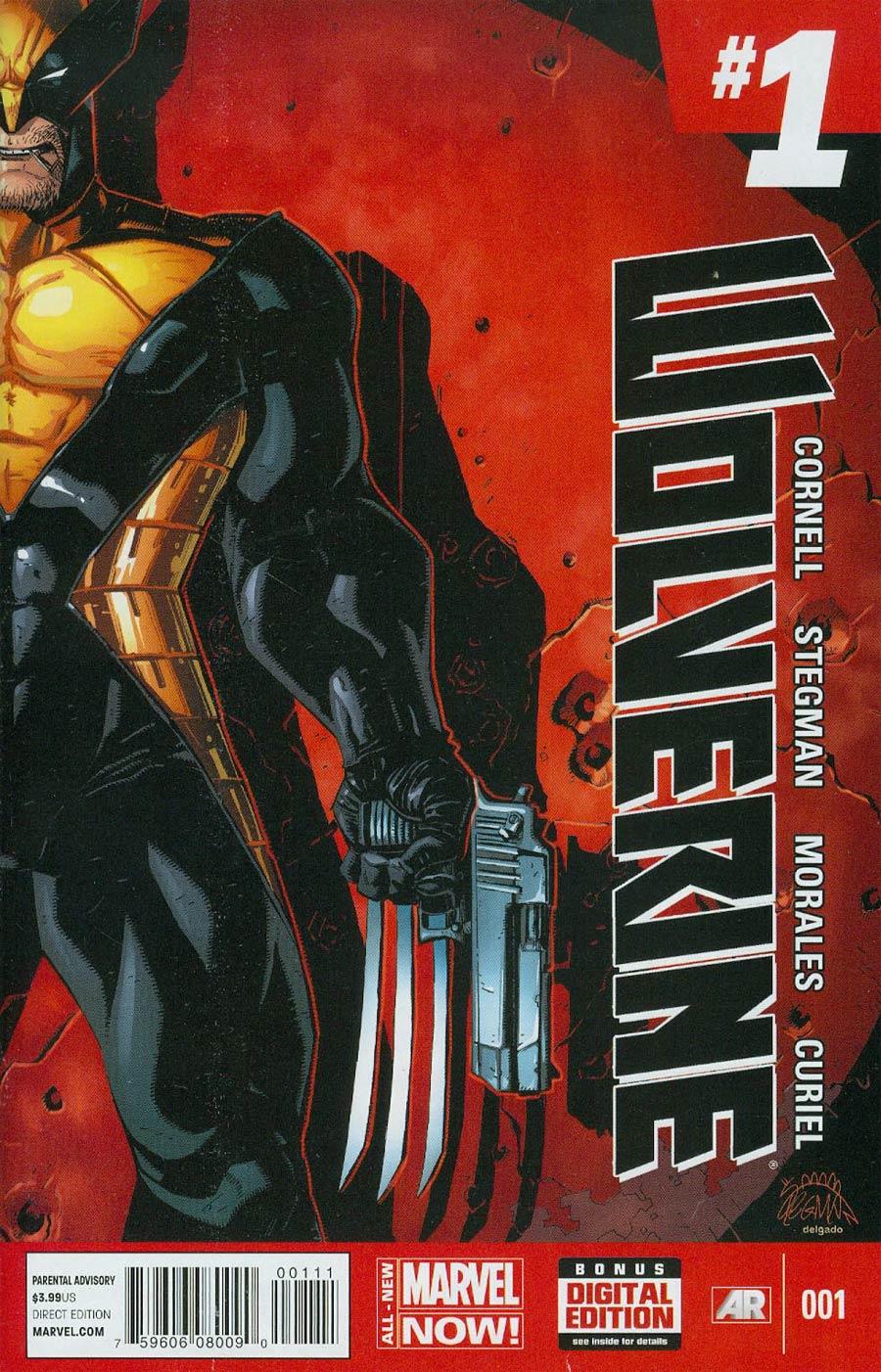 Wolverine Vol 6 #1 Cover A 1st Ptg Regular Ryan Stegman Cover