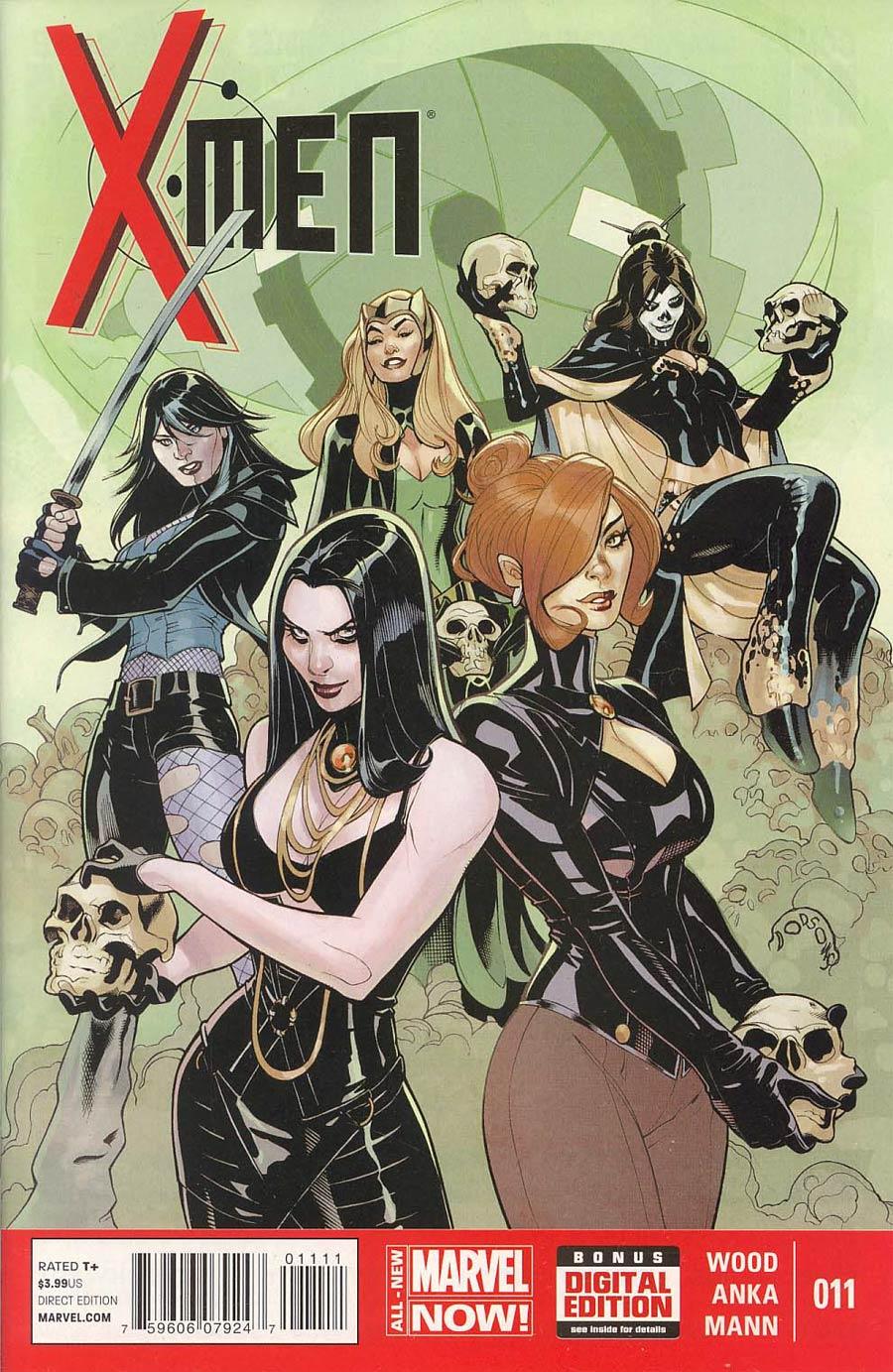 X-Men Vol 4 #11 Cover A Regular Terry Dodson Cover