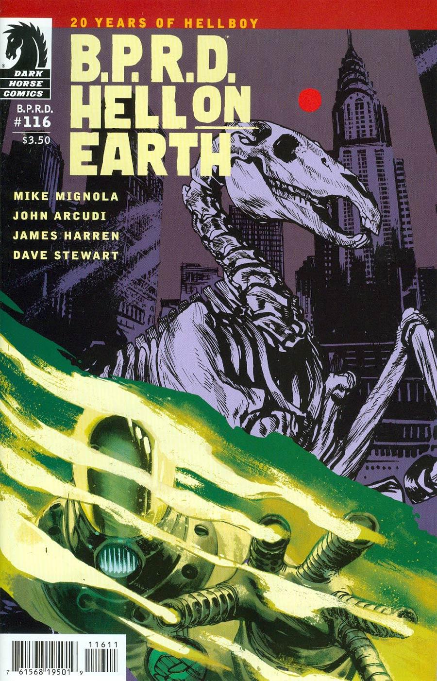 BPRD Hell On Earth #116 Cover A Regular Rafael Albuquerque Cover