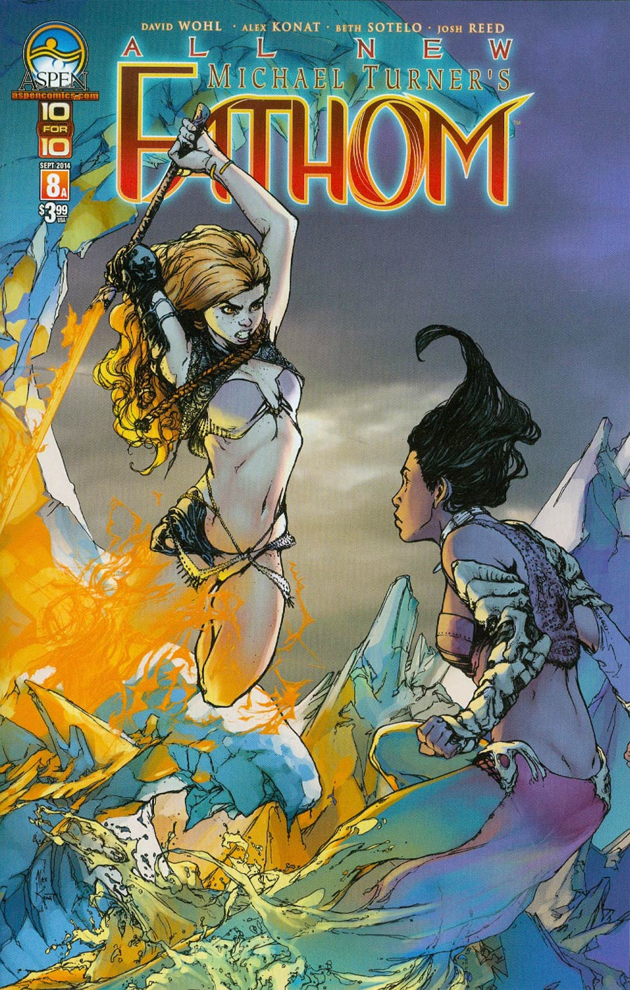 All New Fathom #8 Cover A Alex Konat