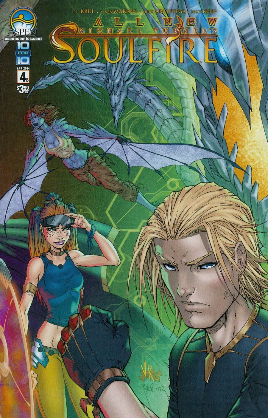 All New Soulfire #4 Cover B