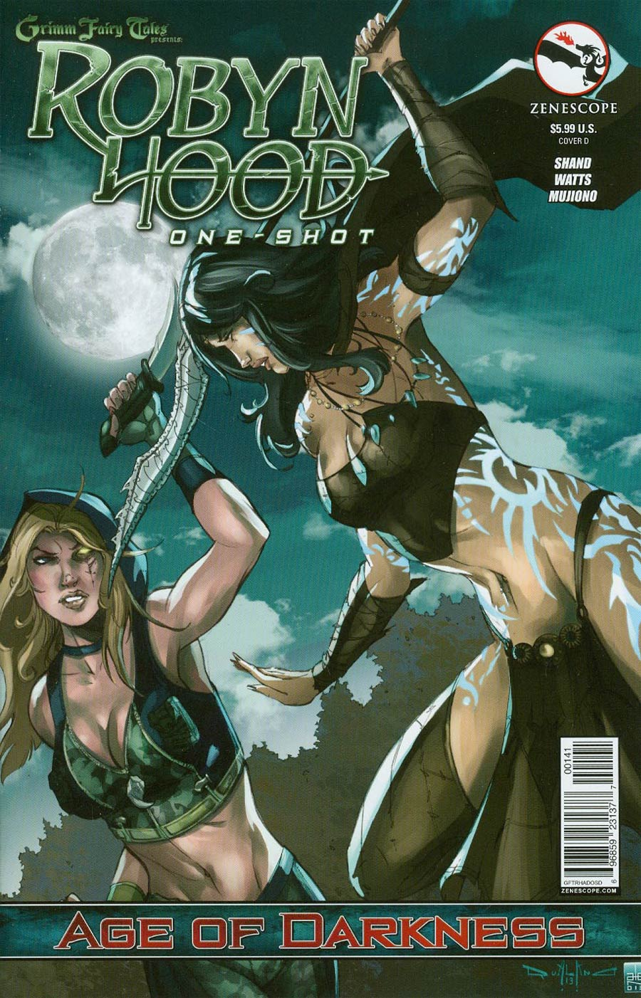 Grimm Fairy Tales Presents Robyn Hood Age Of Darkness Cover D Pasquale Qualano (Age Of Darkness Tie-In)
