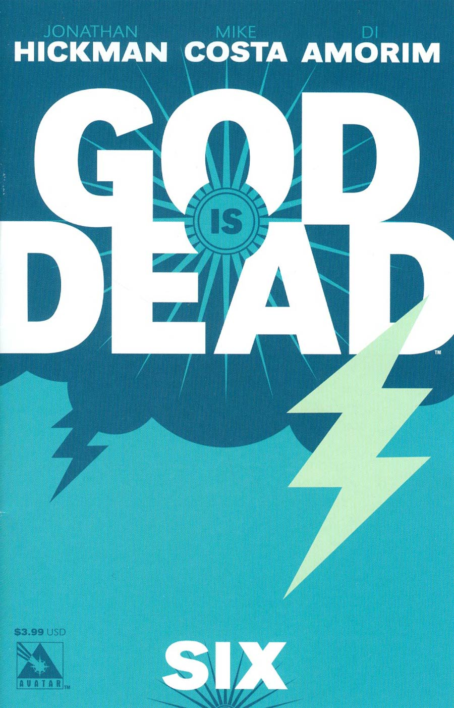 God Is Dead #6 Cover A Regular Cover