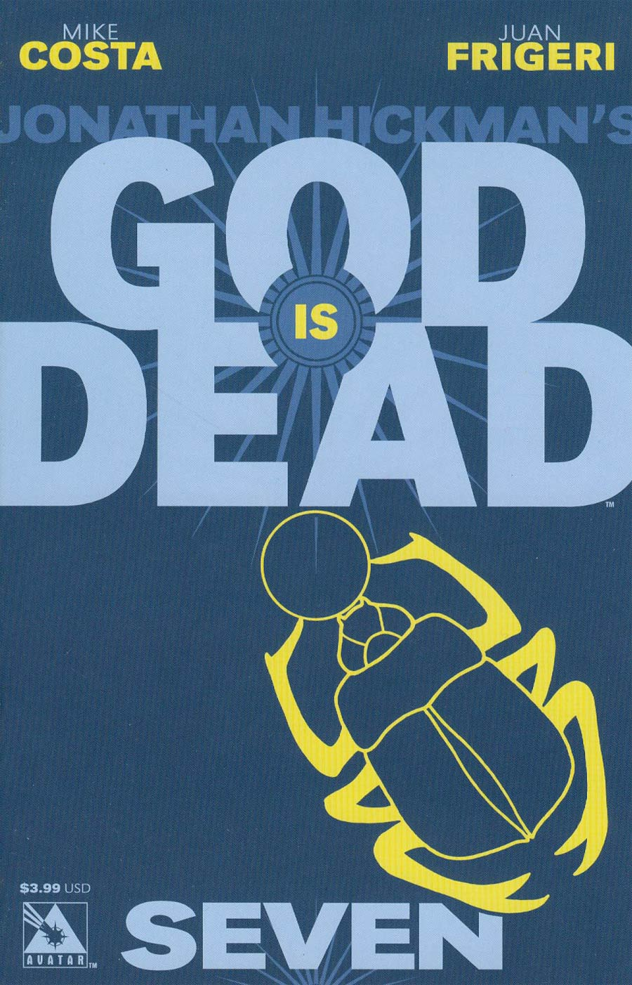 God Is Dead #7 Cover A Regular Cover