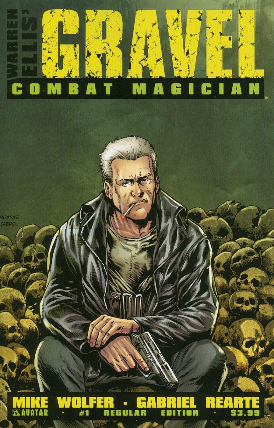 Gravel Combat Magician #1 Cover A Regular Cover