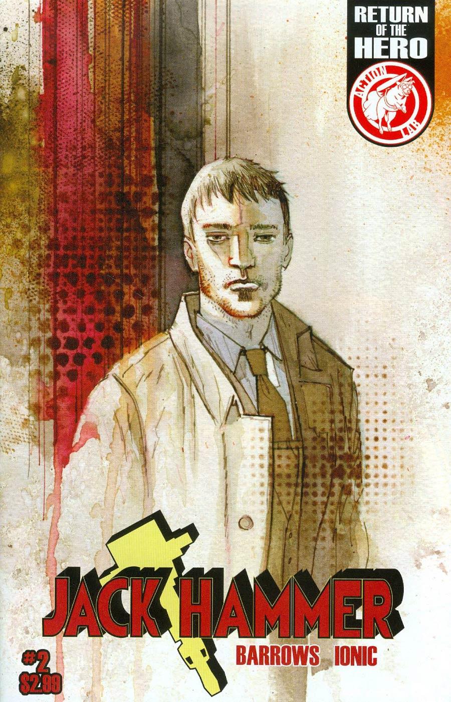 Jack Hammer #2 Cover C Variant Brett Weldele Cover