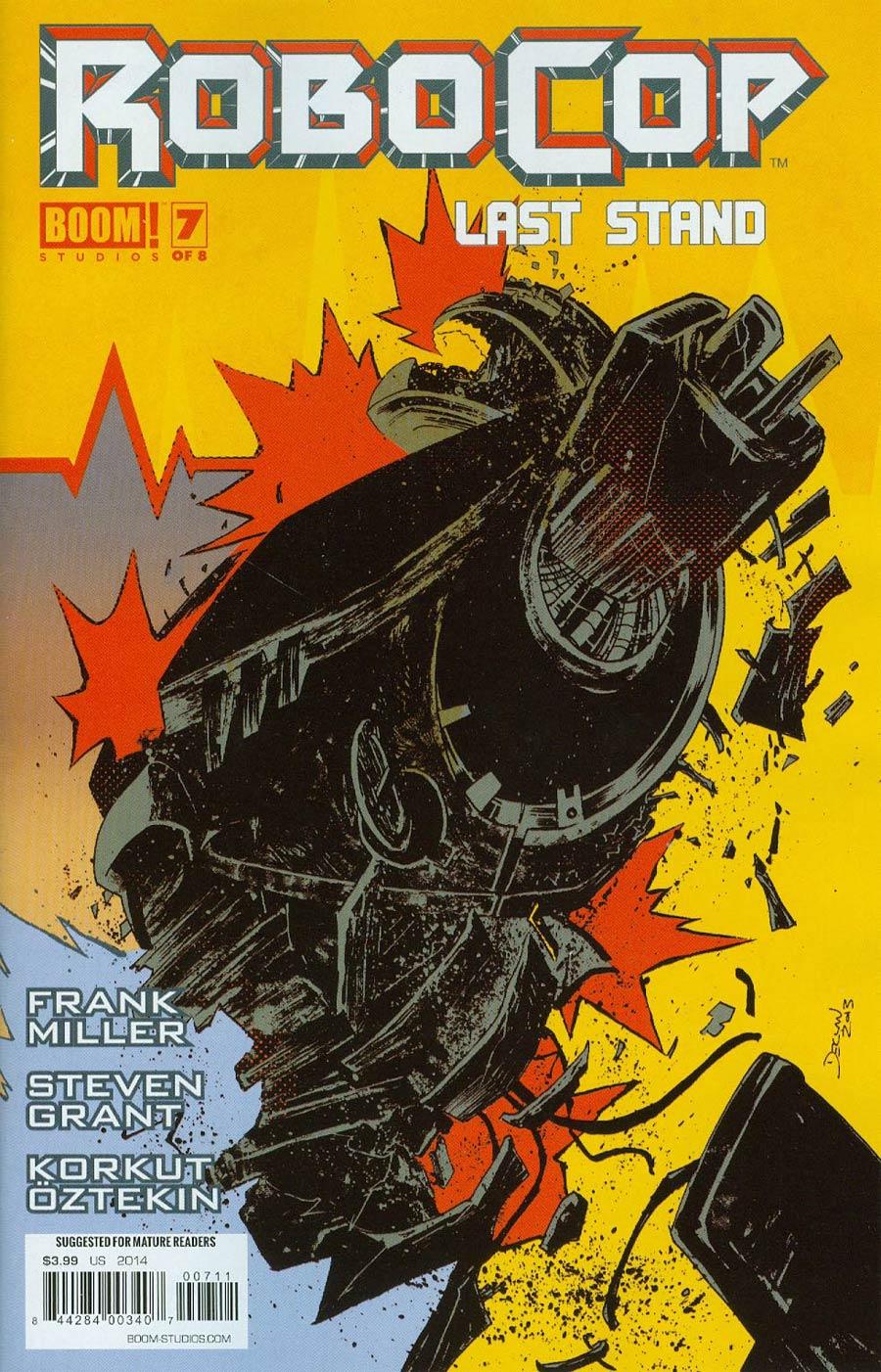 Robocop (Frank Miller) Last Stand #7