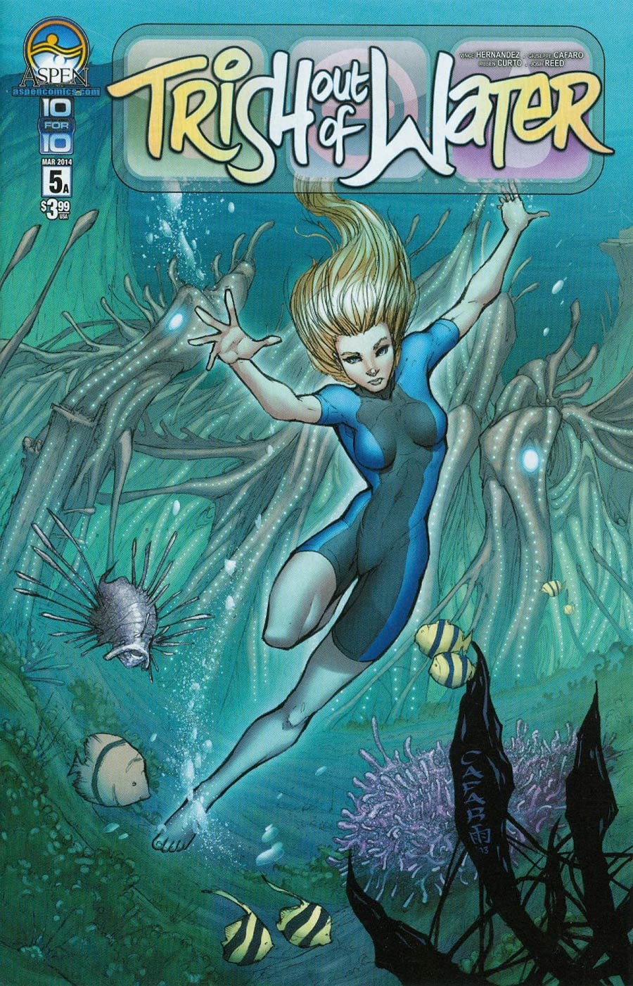 Trish Out Of Water #5 Cover A Giuseppe Cafaro