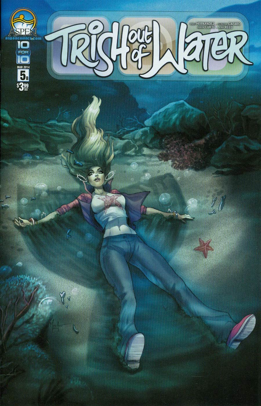 Trish Out Of Water #5 Cover B Mirka Andolfo