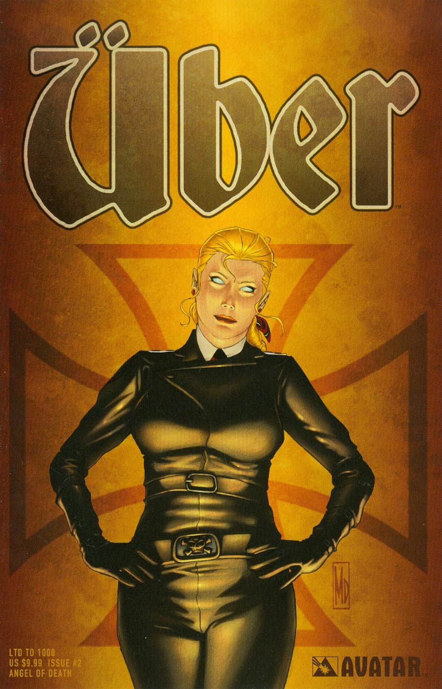 Uber #2 Cover G Angel Of Death Cover