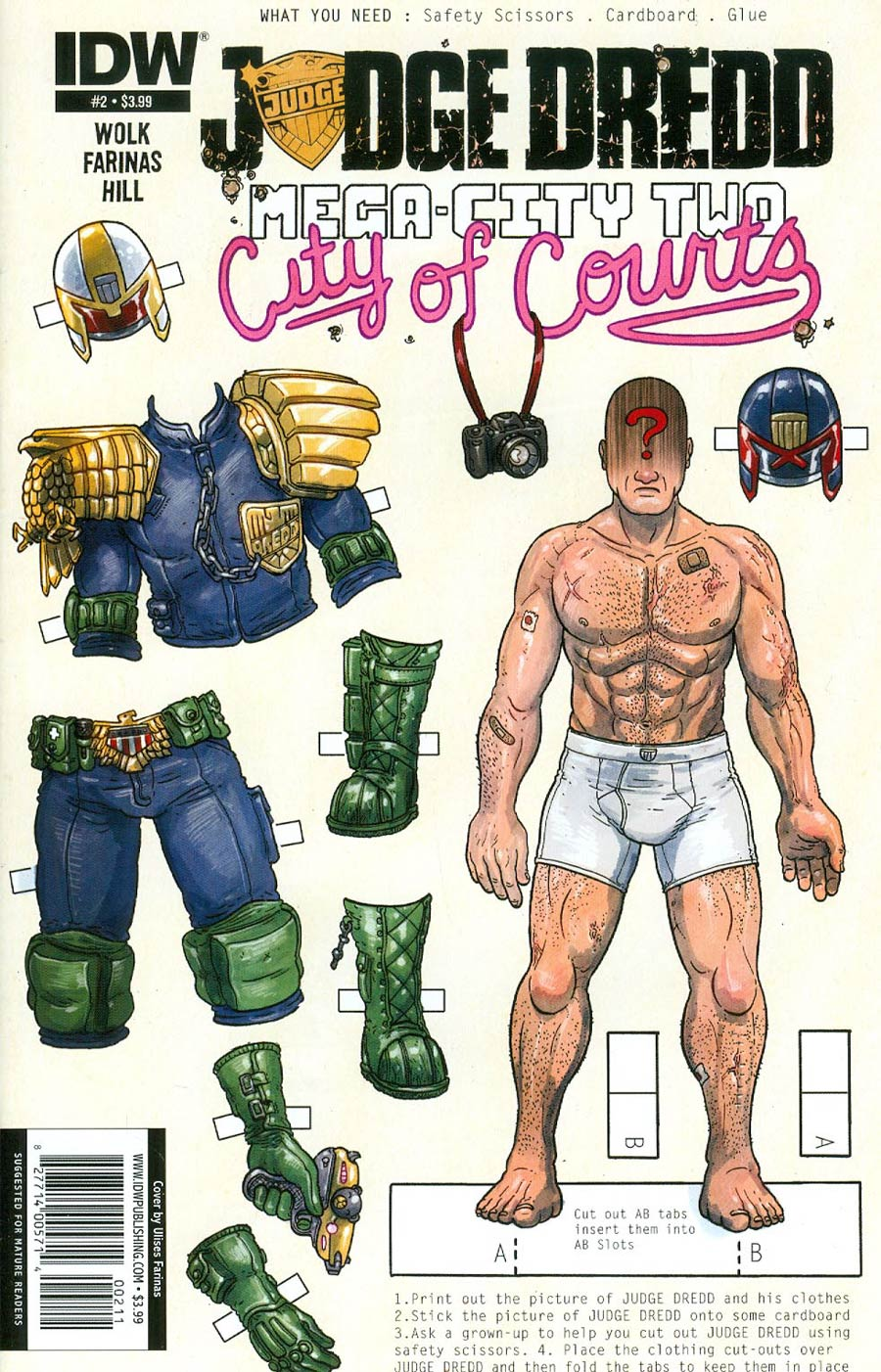 Judge Dredd Mega-City Two #2 Cover A Regular Ulises Farinas Cover