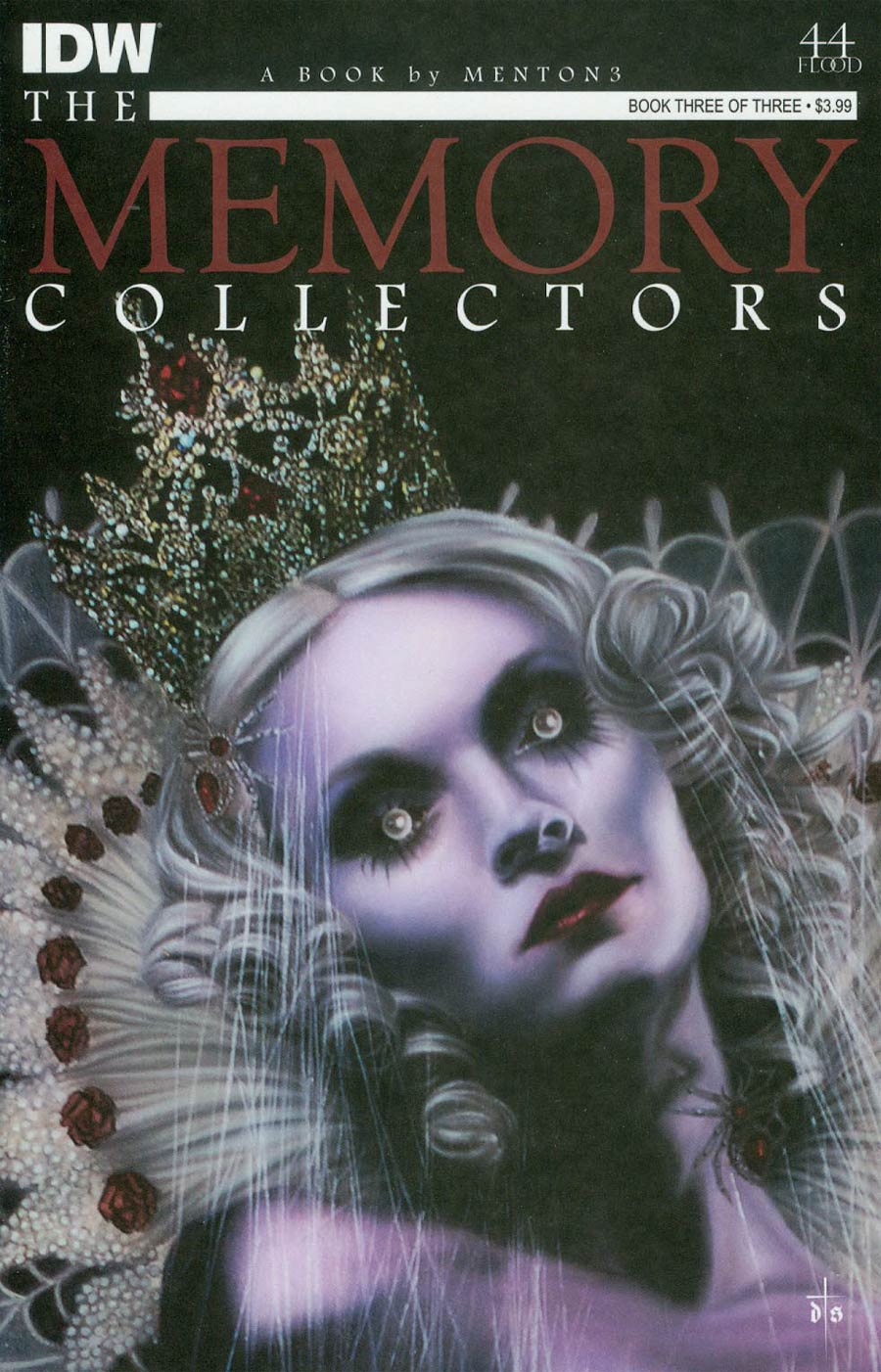 Memory Collectors #3 Cover B Variant David Stoupakis Subscription Cover