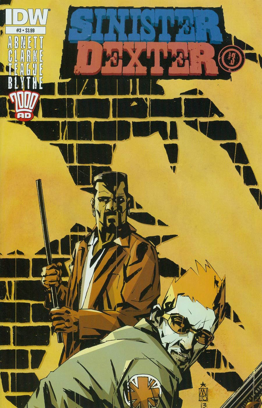 Sinister Dexter #3 Cover A Regular Antonio Fuso Cover