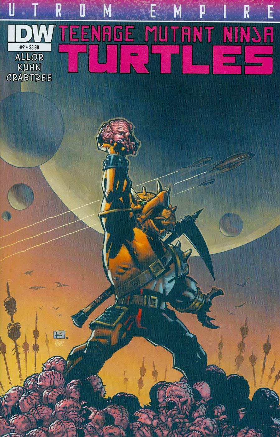 Teenage Mutant Ninja Turtles Utrom Empire #2 Cover A Regular Andy Kuhn Cover