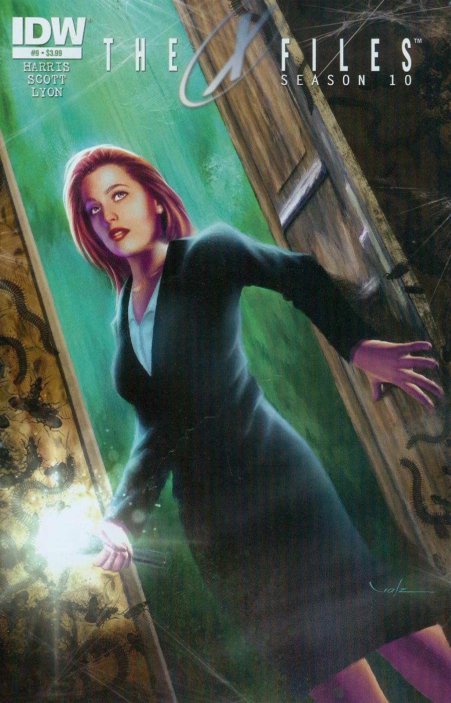 X-Files Season 10 #9 Cover A Regular Carlos Valenzuela Cover