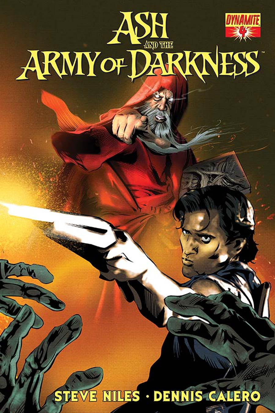 Ash And The Army Of Darkness #4 Cover B Variant Dennis Calero Subscription Cover