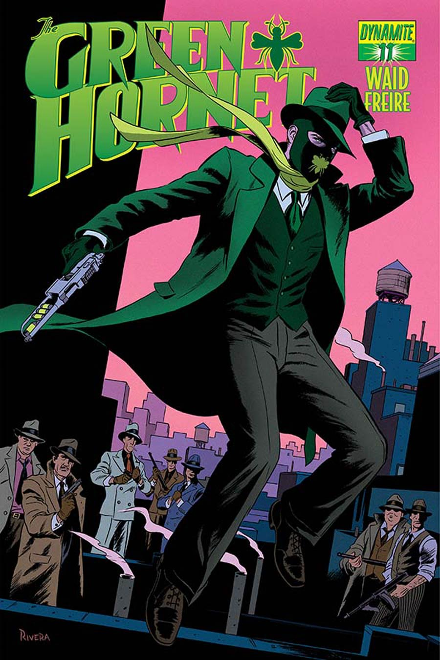 Mark Waids Green Hornet #11 Cover A Regular Paolo Rivera Cover