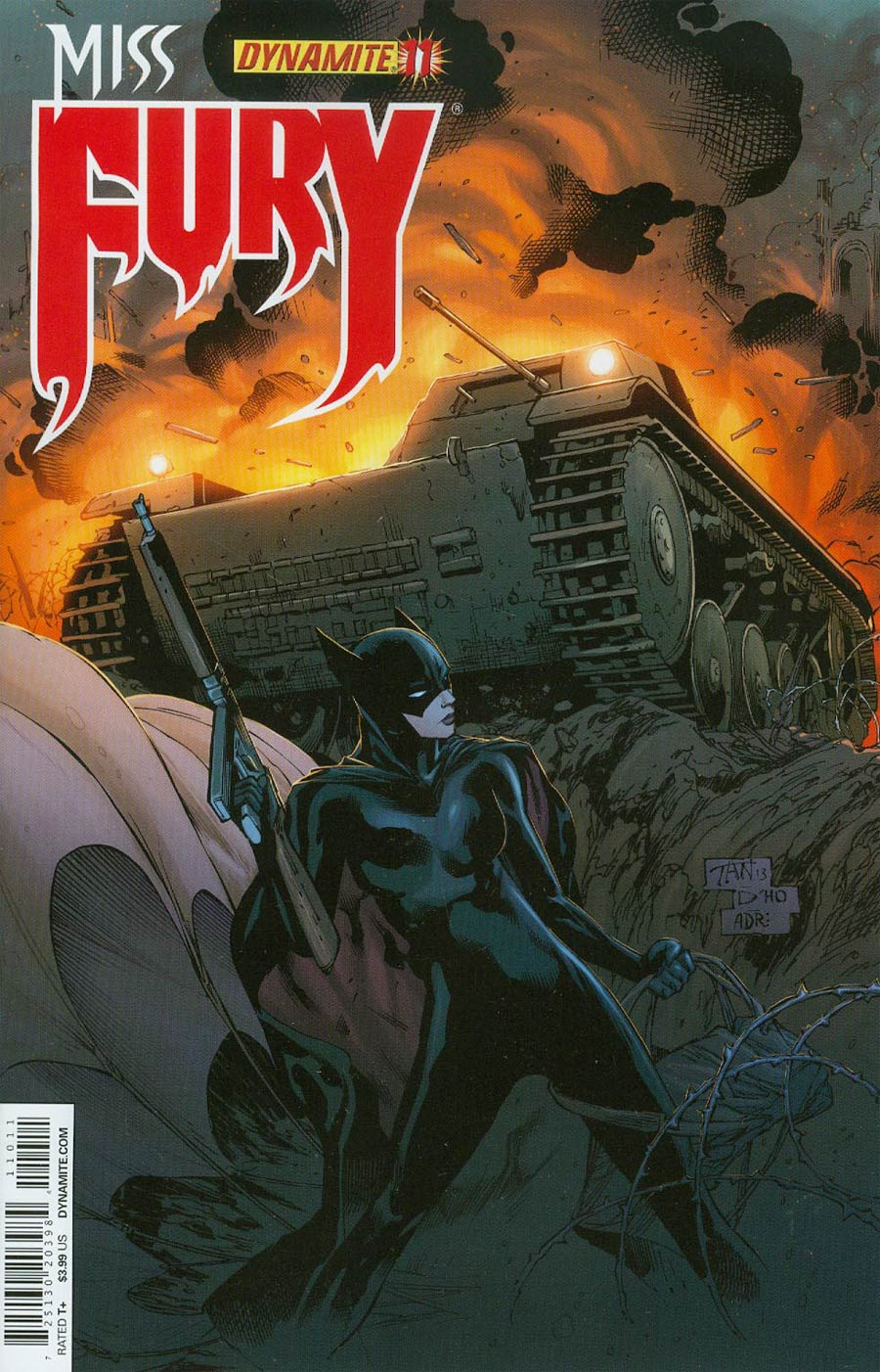 Miss Fury Vol 2 #11 Cover A Regular Billy Tan Cover