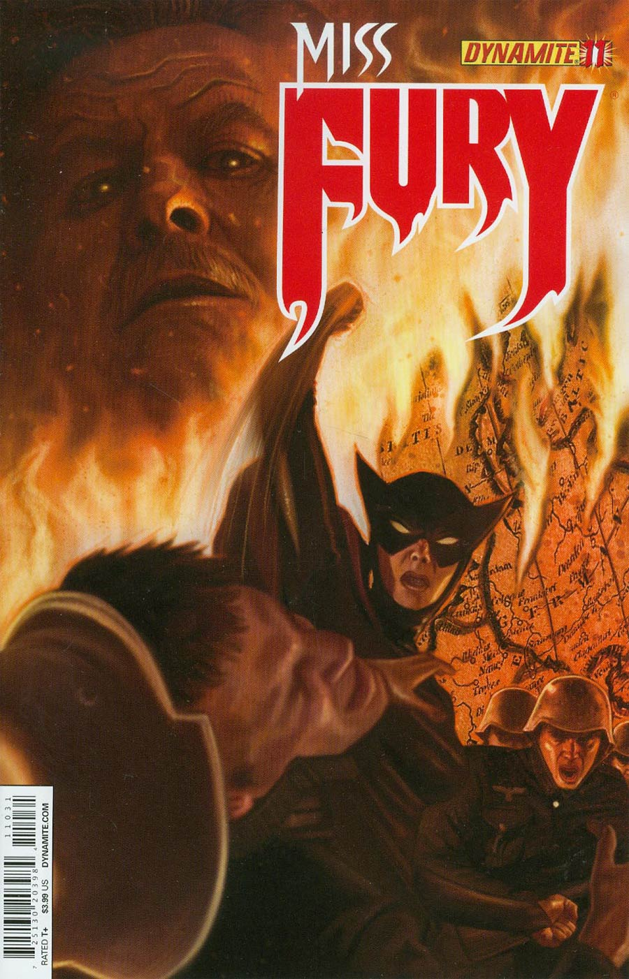 Miss Fury Vol 2 #11 Cover C Variant Colton Worley Cover