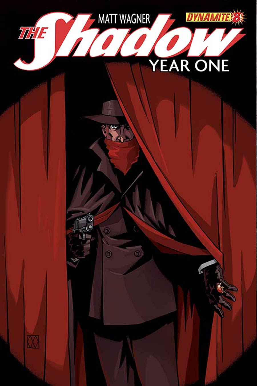 Shadow Year One #8 Cover A Regular Matt Wagner Cover
