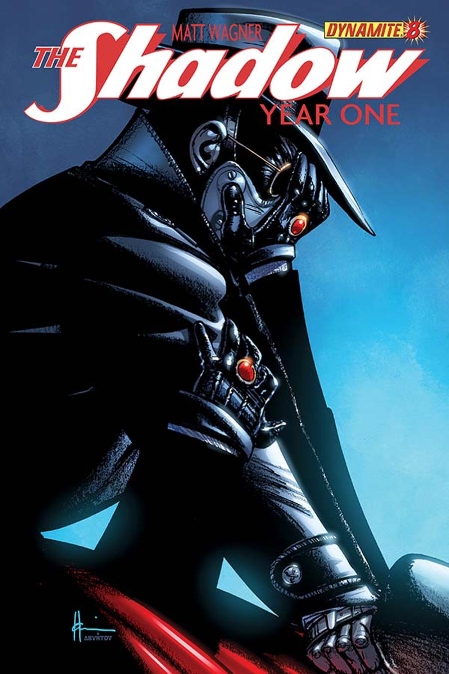 Shadow Year One #8 Cover D Regular Howard Chaykin Cover