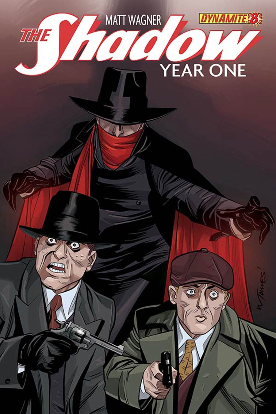Shadow Year One #8 Cover E Variant Wilfredo Torres Subscription Cover