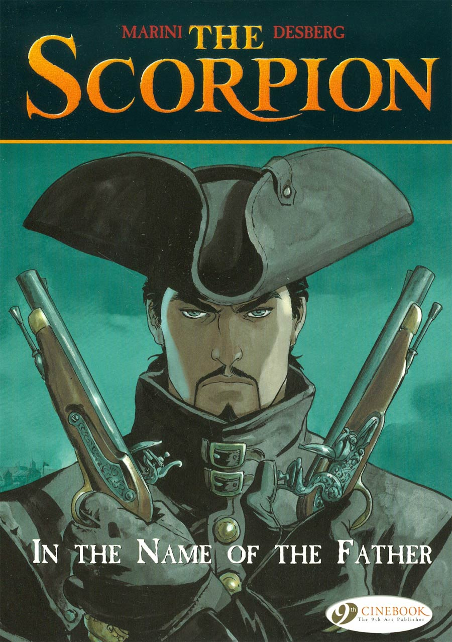 Scorpion Vol 5 In The Name Of The Father GN