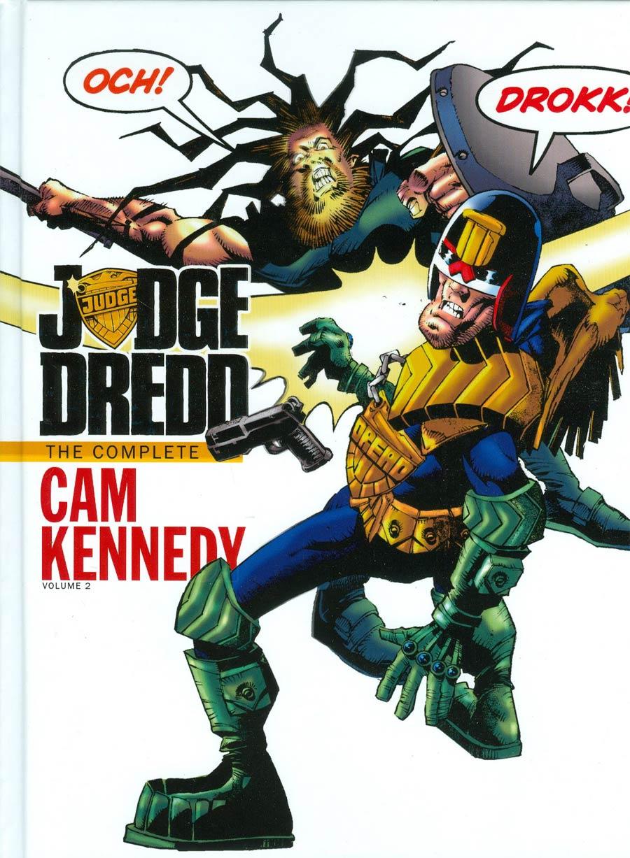 Judge Dredd Complete Cam Kennedy Vol 2 HC