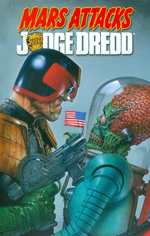 Mars Attacks Judge Dredd TP