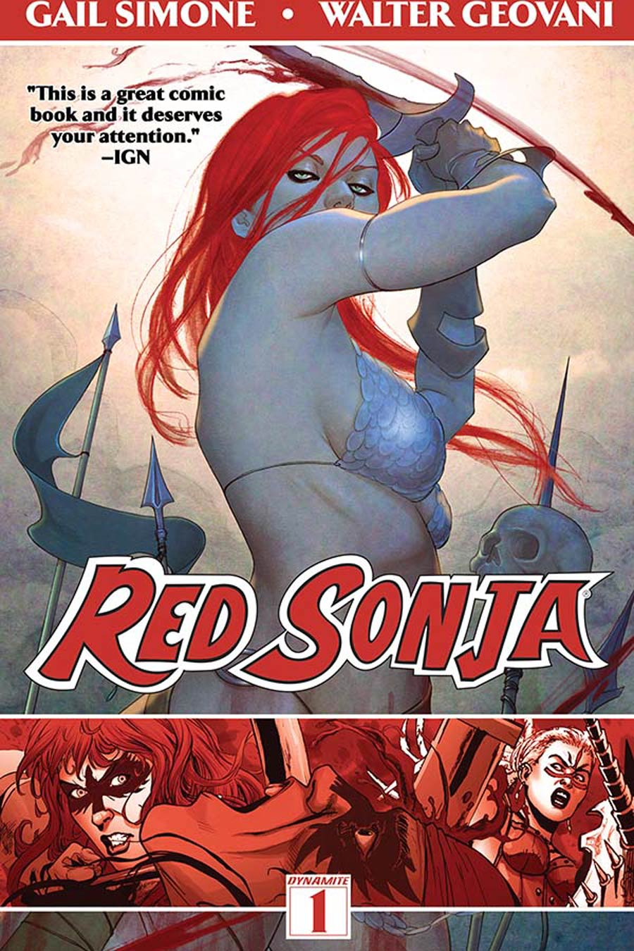 Red Sonja Vol 1 Queen Of Plagues TP