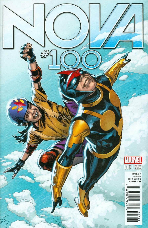 Nova Vol 5 #10 Cover C Incentive Phil Jimenez Variant Cover