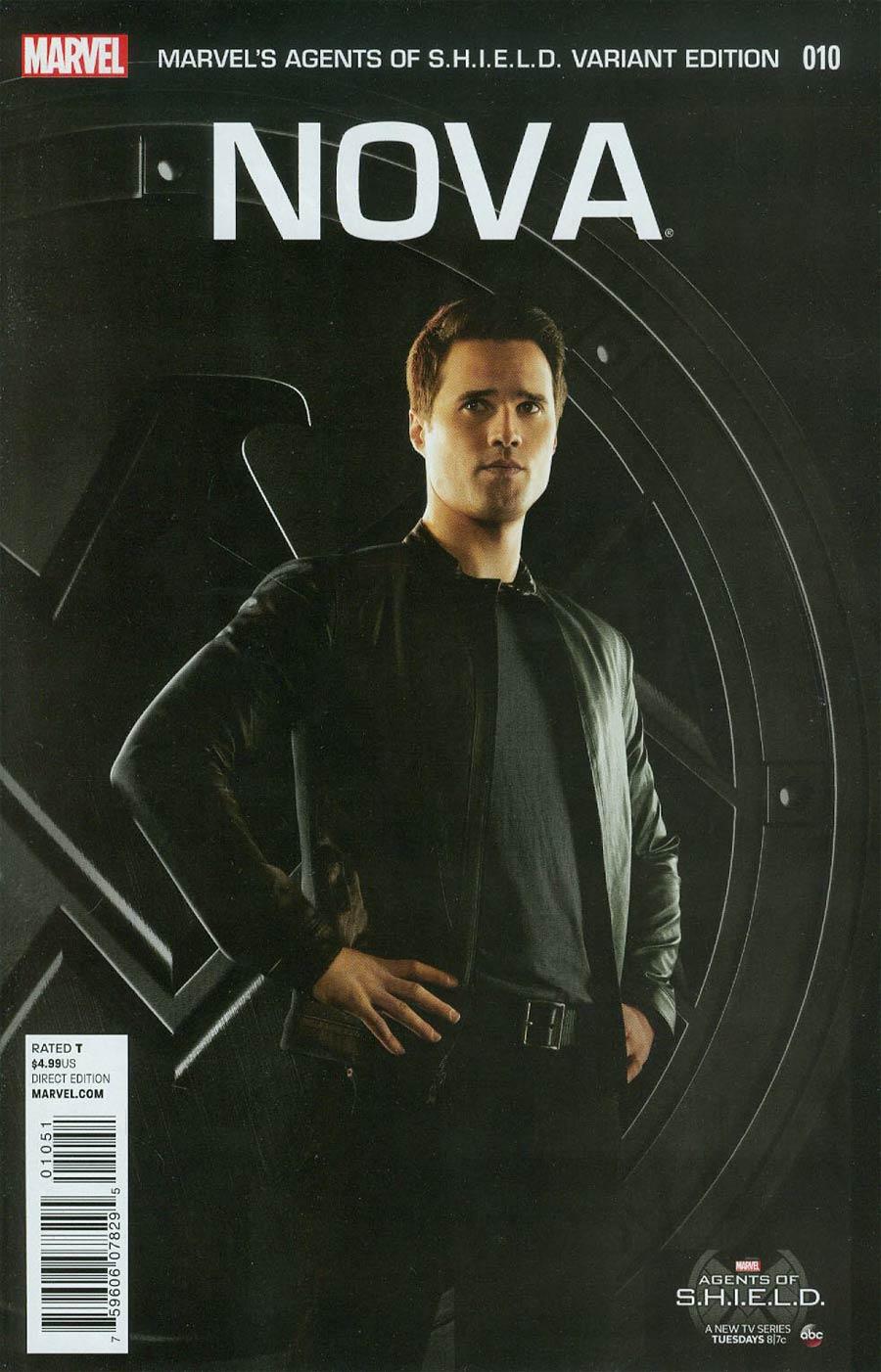 Nova Vol 5 #10 Cover E Incentive Marvels Agents Of SHIELD Variant Cover