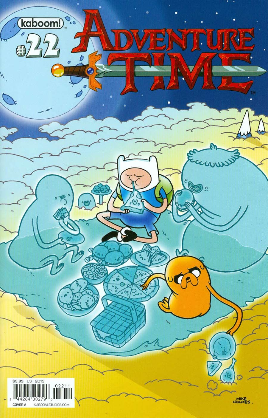 Adventure Time #22 Cover A Regular Mikes Holmes Cover