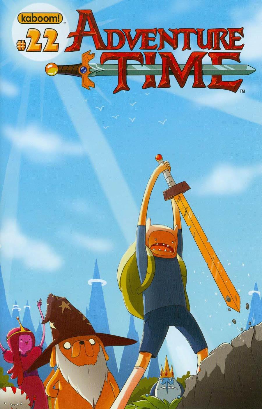 Adventure Time #22 Cover B Regular Scott Maynard Cover