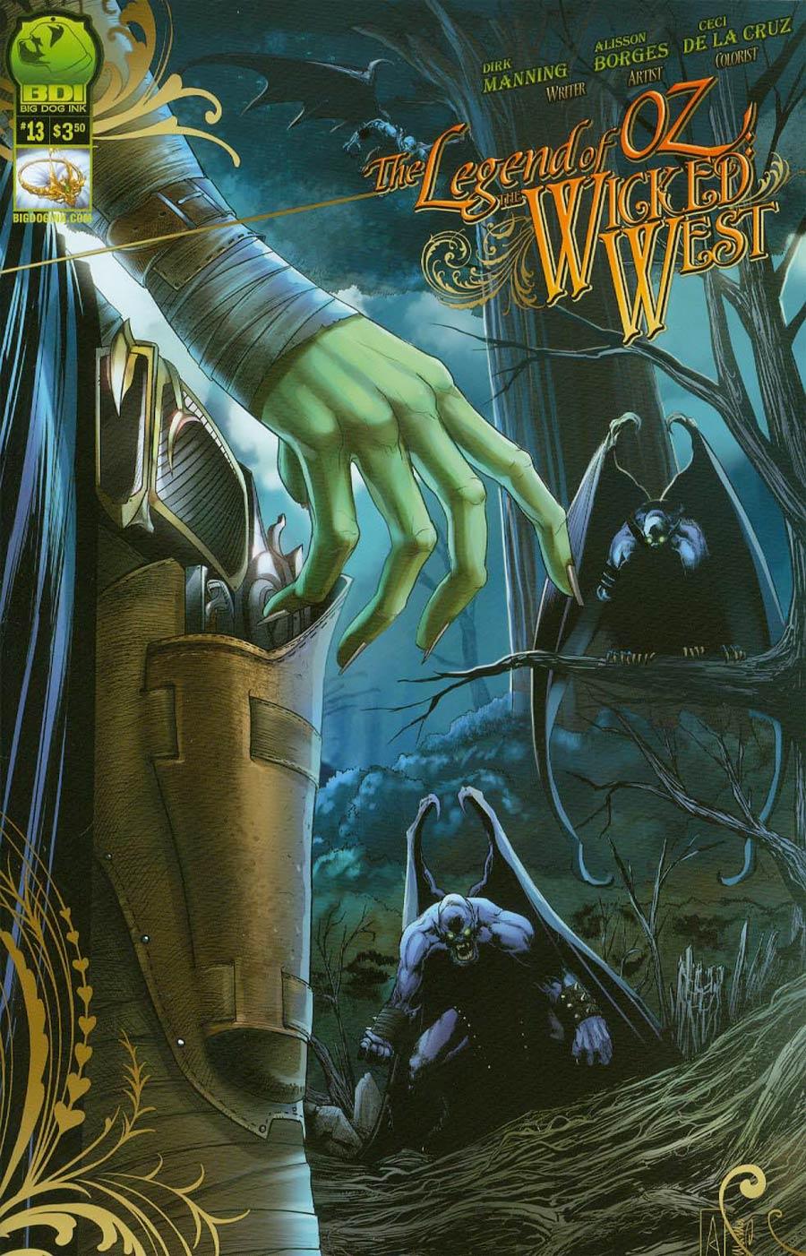 Legend Of Oz The Wicked West Vol 2 #13 Cover A Alisson Borges