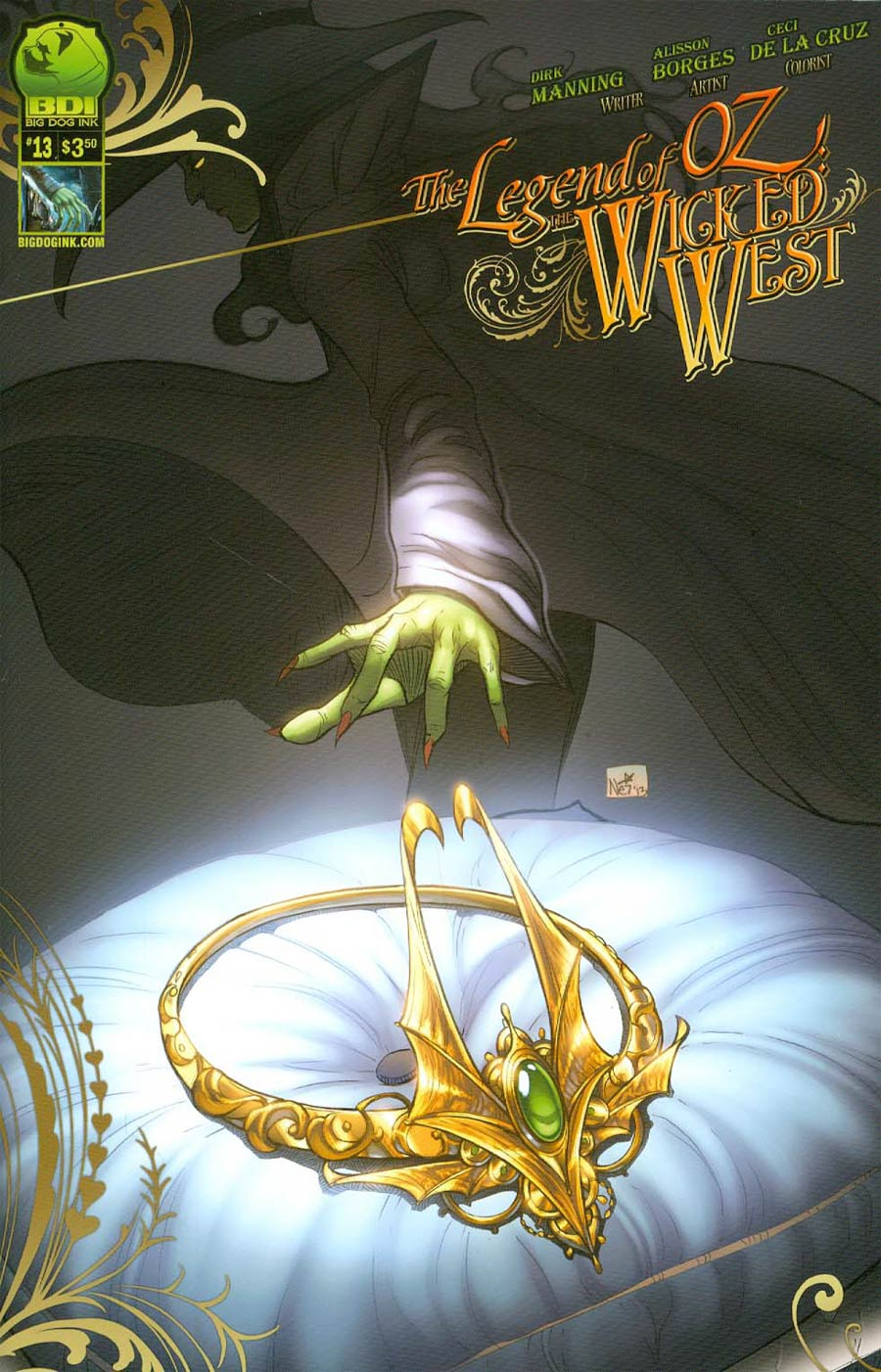 Legend Of Oz The Wicked West Vol 2 #13 Cover B Nei Ruffino