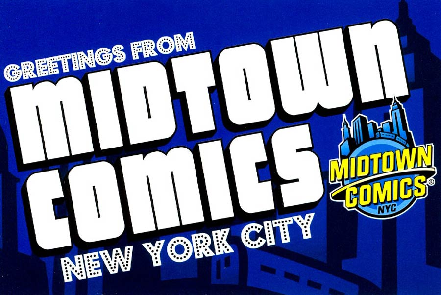 Midtown Comics Postcard - Greetings From Midtown