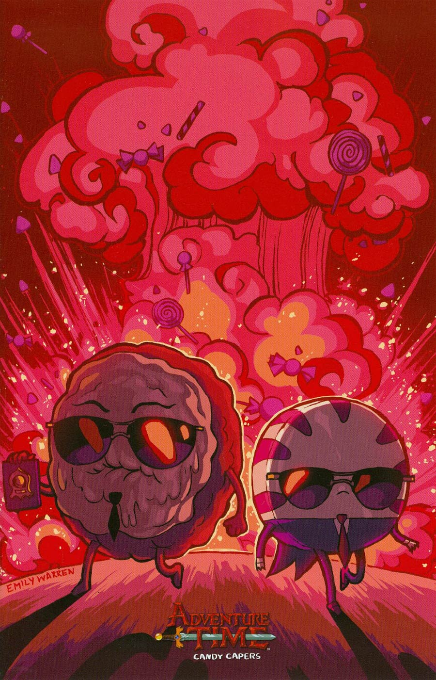 Adventure Time Candy Capers #6 Cover C Incentive Emily Warren Virgin Variant Cover