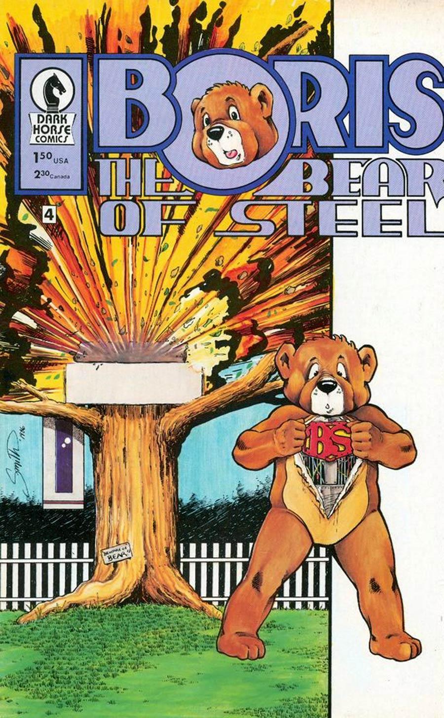 Boris The Bear #4 Cvr B Exploding Tree