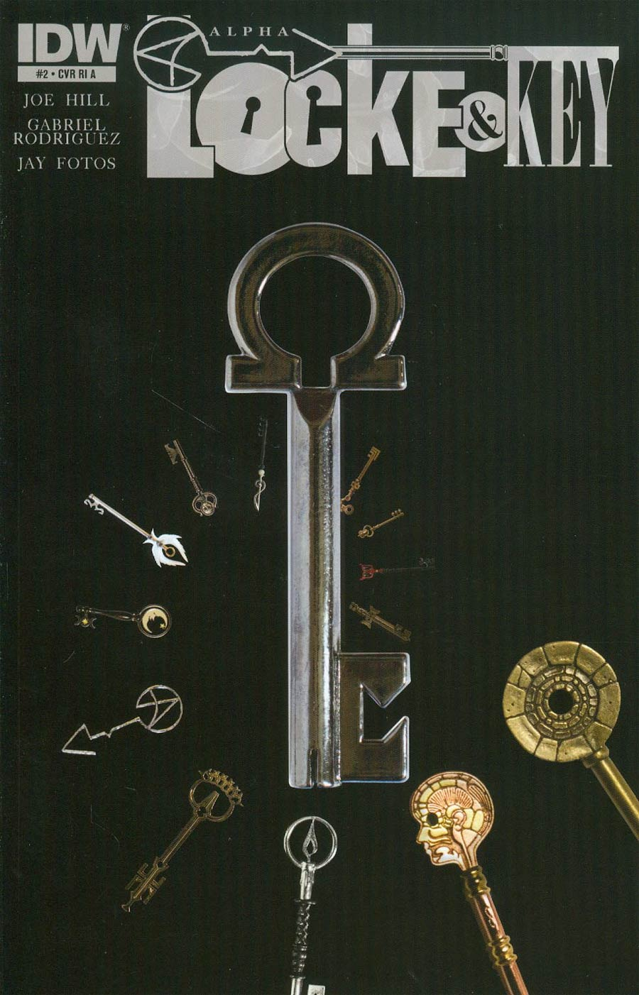 Locke & Key Alpha #2 Cover H Incentive Shane Leonard Photo Variant Cover