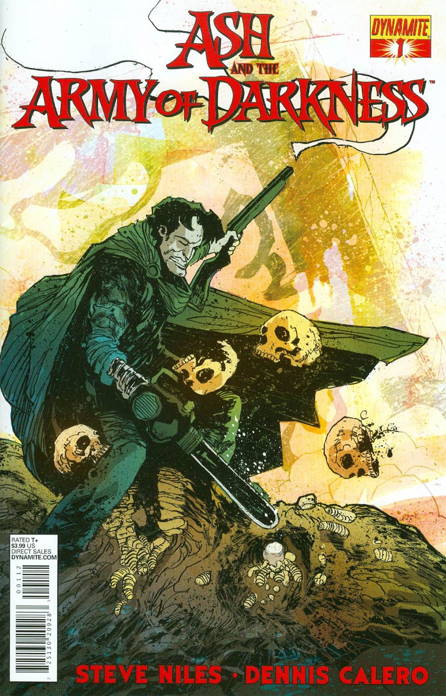 Ash And The Army Of Darkness #1 Cover C 2nd Ptg Variant Cover