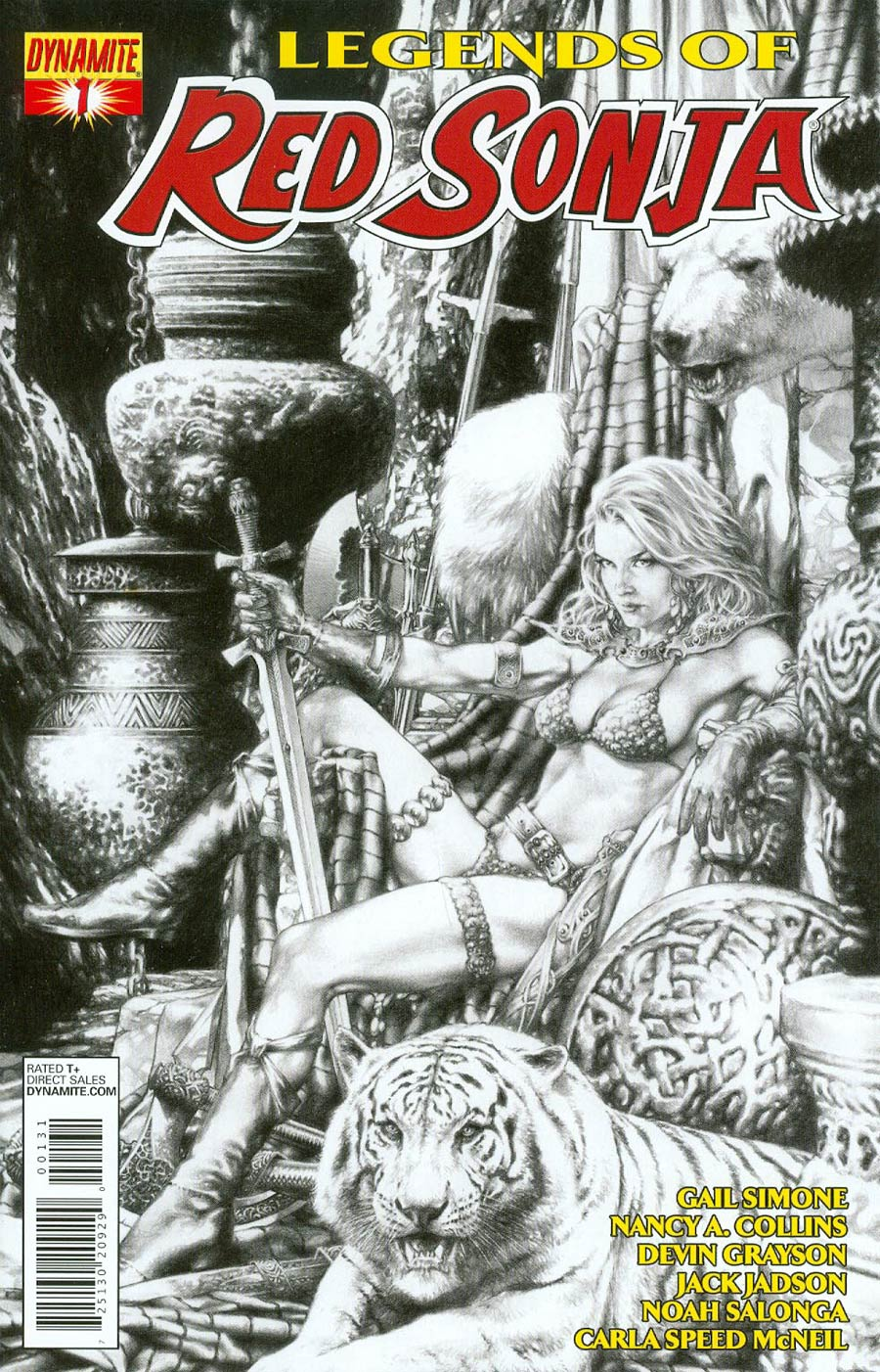 Legends Of Red Sonja #1 Cover C Reorder Edition