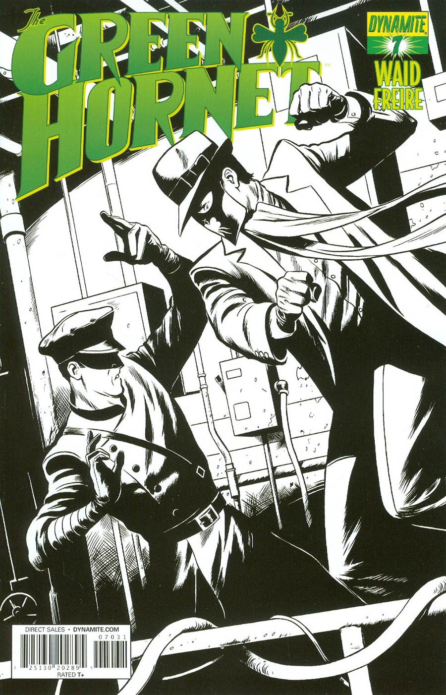 Mark Waids Green Hornet #7 Cover C Reorder Edition