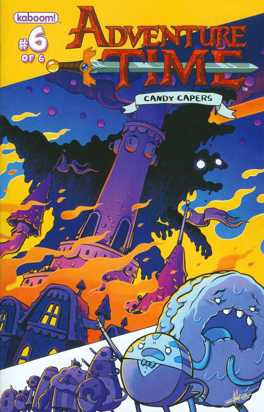 Adventure Time Candy Capers #6 Cover A Regular Yuko Ota Cover