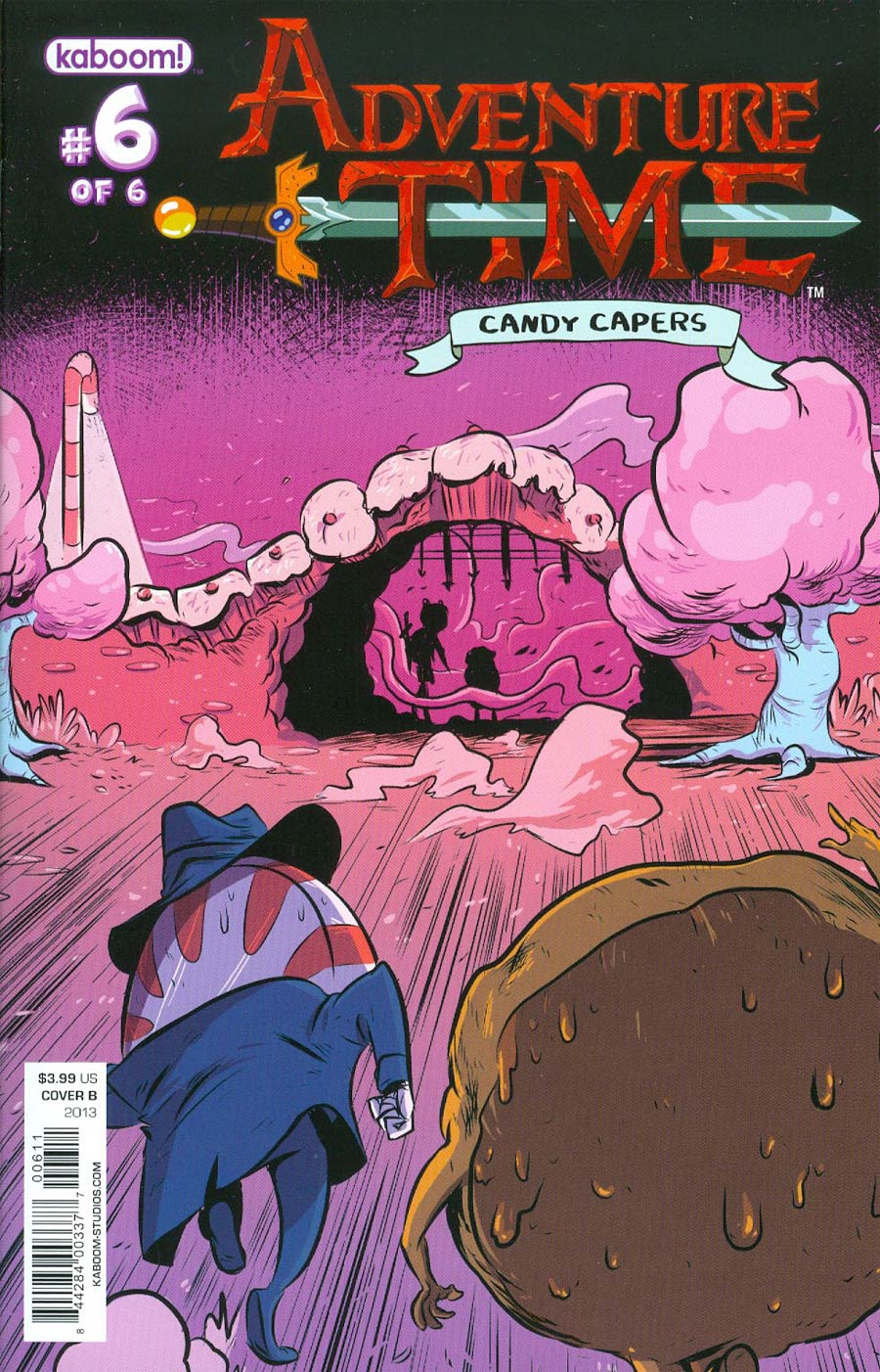 Adventure Time Candy Capers #6 Cover B Regular Wook Jin Clark Cover