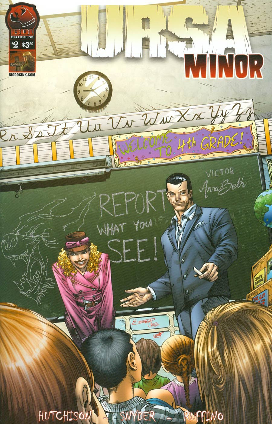 Ursa Minor Vol 2 #2 Cover A Ian Snyder