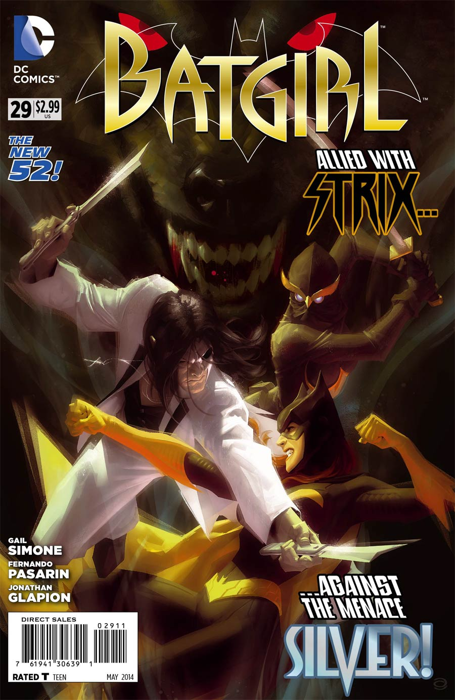 Batgirl Vol 4 #29 Cover A Regular Alex Garner Cover