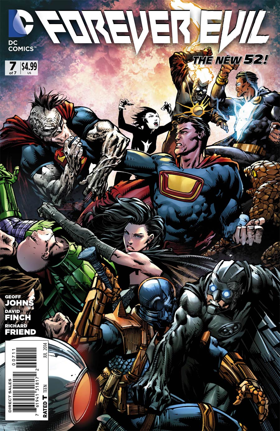 Forever Evil #7 Cover A Regular David Finch Cover