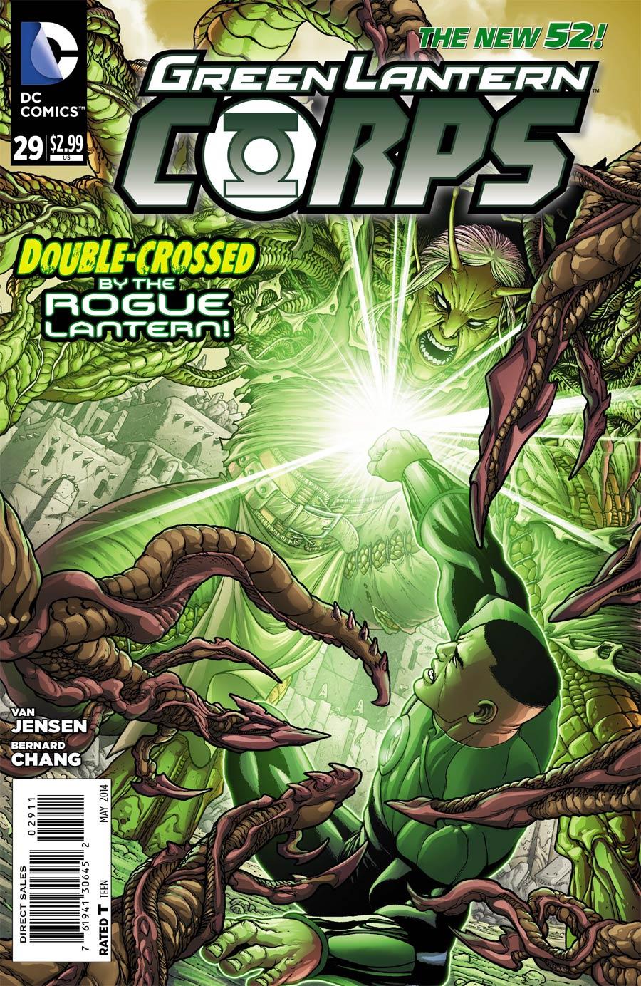 Green Lantern Corps Vol 3 #29 Cover A Regular Francis Portela Cover