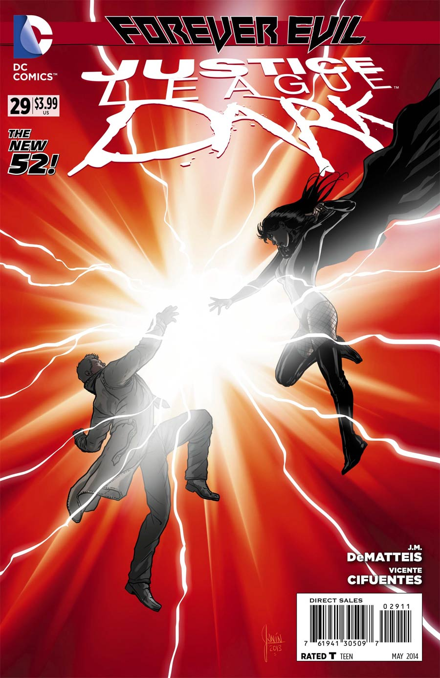 Justice League Dark #29 Cover A Regular Mikel Janin Cover (Forever Evil Tie-In)